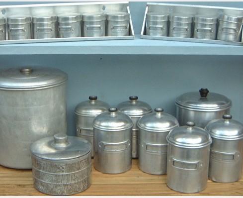 Aluminium & Aluminium - The Vintage Kitchen Store