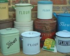 Flour bins