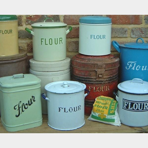 Flour Amp Sugar Bins The Vintage Kitchen Store