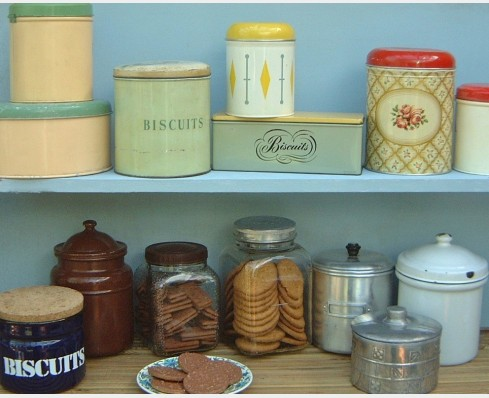 Biscuit Tins The Vintage Kitchen Store