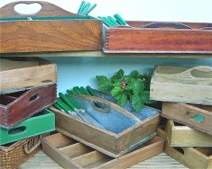 Cutlery boxes & trays