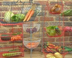 Vegetable racks & baskets
