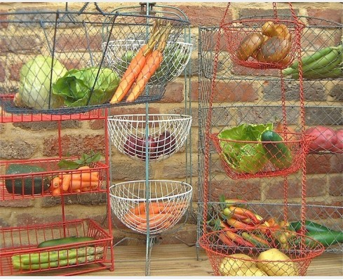 Vegetable racks & baskets