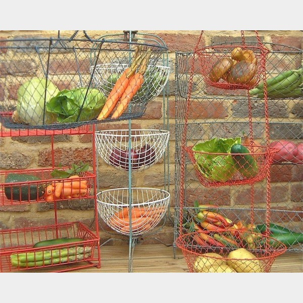 Vegetable Racks Amp Baskets The Vintage Kitchen Store
