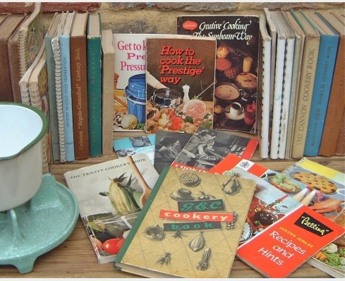 Appliance cookery books
