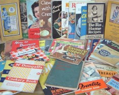 Advertising recipe booklets