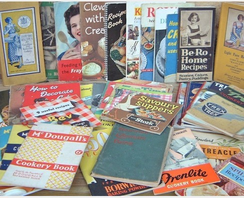 Brand recipe booklets