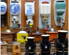 Cast iron & ceramic coffee grinders