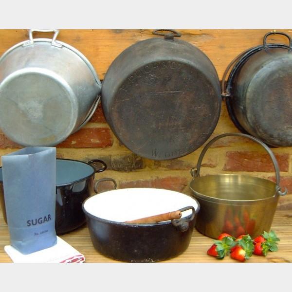 Preserving Pans The Vintage Kitchen Store