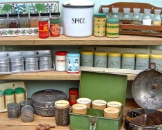 Spice racks & tins