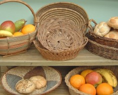 Fruit & bread baskets